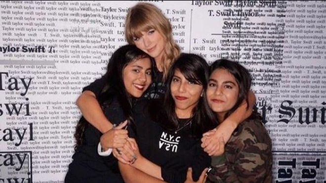 Nu sinh Canada duoc Taylor Swift tang 6.000 USD chi tra hoc phi anh 1