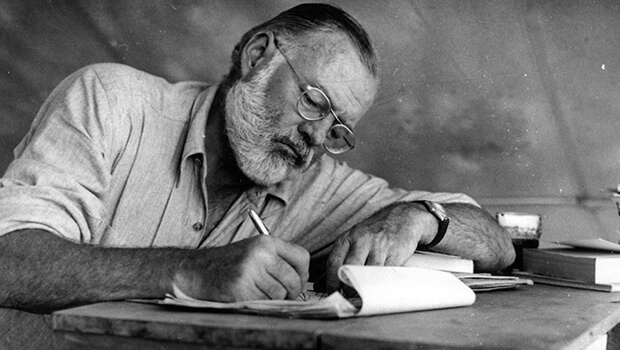 tu truyen cua Ernest Hemingway anh 1
