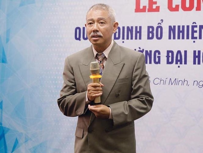 GS Truong Nguyen Thanh thoi lam pho hieu truong anh 1