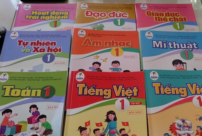 sach giao khoa Tieng Viet lop 1 bo Canh dieu anh 2