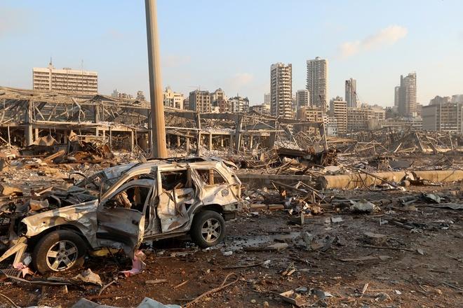 no o Beirut,  thanh pho bi tham hoa anh 1