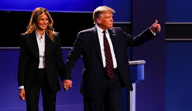 Donald Trump xet nghiem Covid-19 anh 1