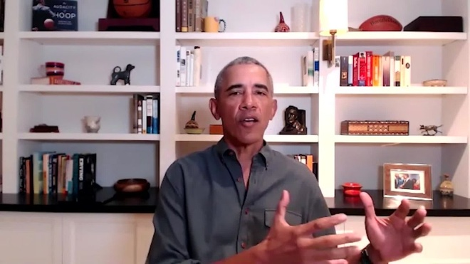 Trump thieu kien nhan,  Obama chi trich Trump anh 1
