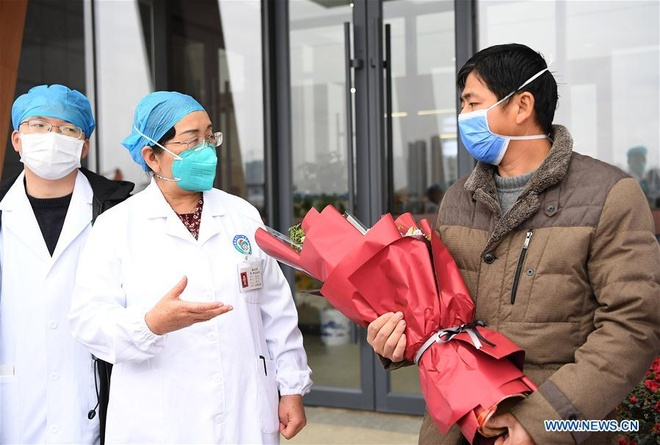 Benh nhan nhiem virus corona dau tien duoc chua khoi tai Giang Tay hinh anh 1 138737296_15801215122841n.jpg