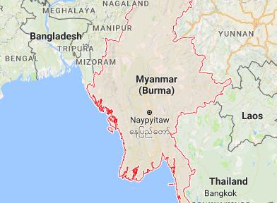 May bay chua ro tung tich roi ngoai khoi Myanmar hinh anh