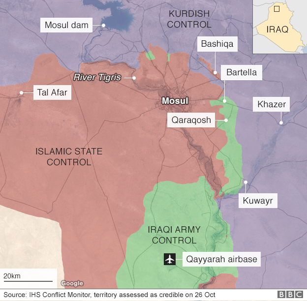 Phien quan IS o Iraq dong loat cao rau de chay tron hinh anh 2