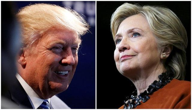 Gio lien tuc doi chieu, Clinton chua thang chac truoc Trump hinh anh
