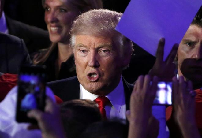Donald Trump thanh tong thong My anh 1