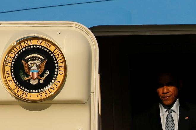 Obama mang noi buon Trump theo chuyen cong du cuoi cung hinh anh 1
