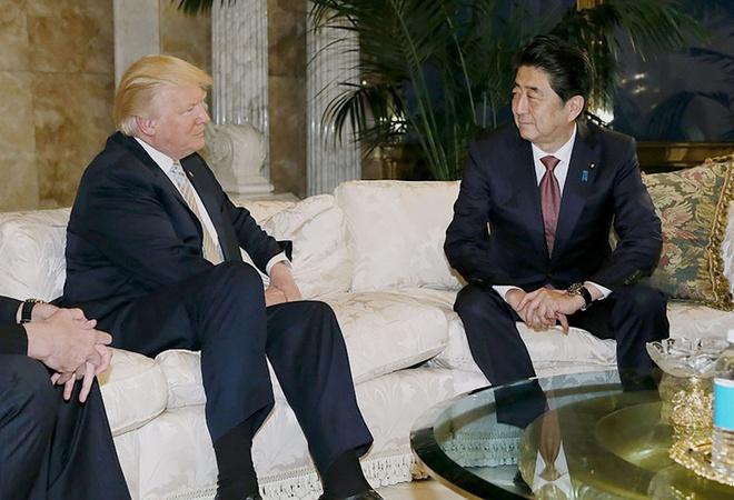 Qua Abe tang Trump duoc 'san xuat boi' cong ty Trung Quoc hinh anh 1