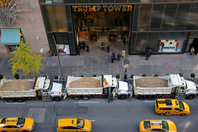 New York xin tien bao ve Trump anh 2