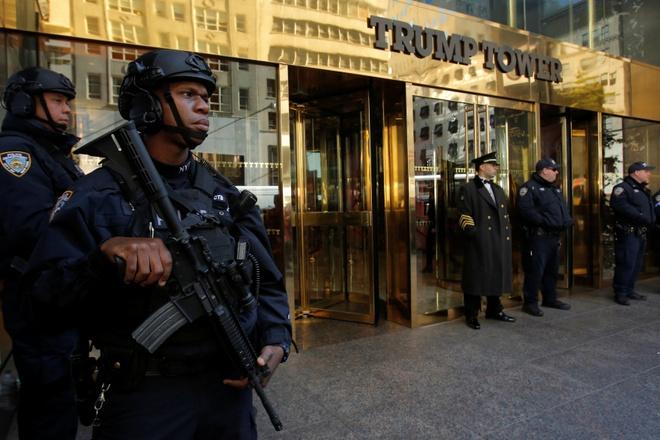 New York doi 35 trieu USD tien bao ve Trump hinh anh