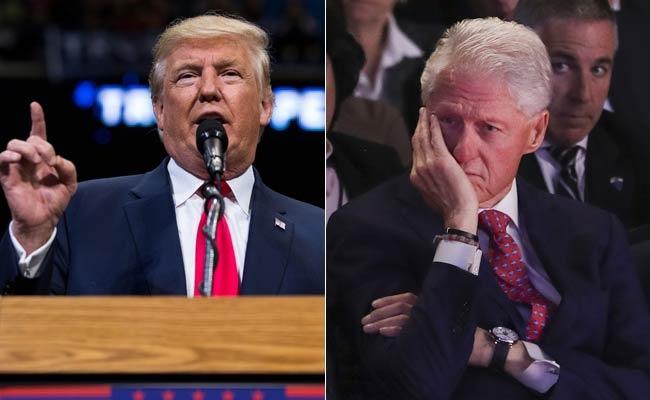 Trump va Bill Clinton dau khau ve tri thong minh cua Trump hinh anh