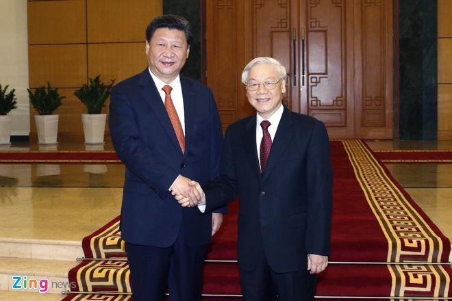 Tong bi thu Nguyen Phu Trong len duong tham Trung Quoc hinh anh 1