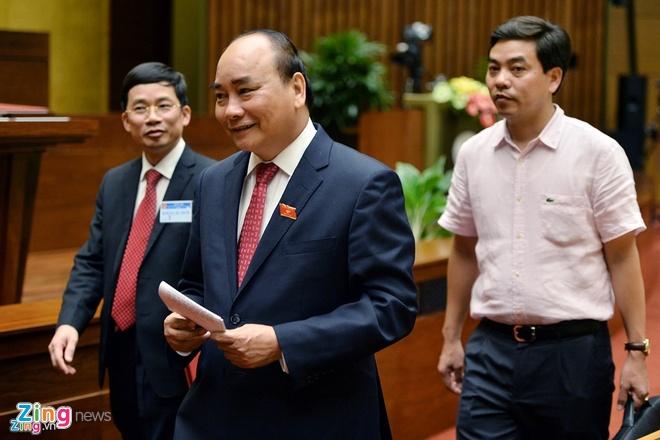 Thu tuong Nguyen Xuan Phuc du Dien dan Kinh te TG anh 1