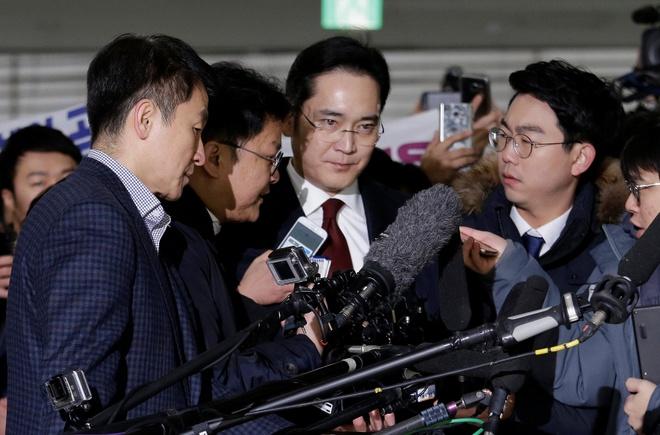 Han Quoc can nhac tac dong kinh te viec bat lanh dao Samsung hinh anh