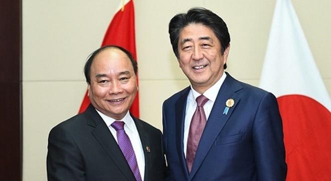 Thu tuong Shinzo Abe va phu nhan tham chinh thuc Viet Nam hinh anh