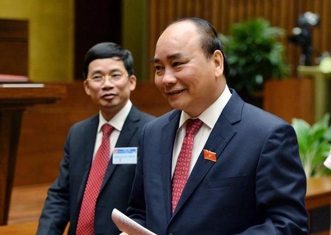 Thu tuong Nguyen Xuan Phuc sap du Dien dan Kinh te The gioi hinh anh