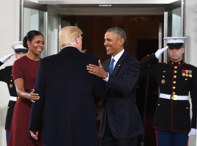 Gia dinh Obama don gia dinh Trump o Nha Trang hinh anh