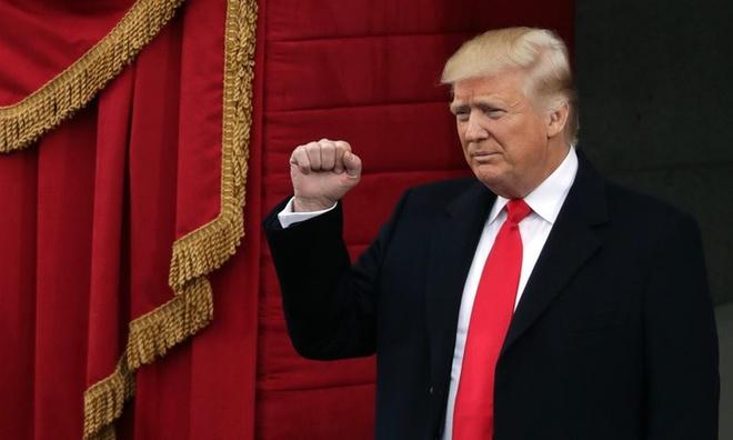 Donald Trump nham chuc tong thong My anh 16