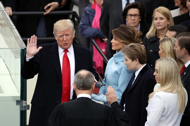Donald Trump nham chuc tong thong My anh 18