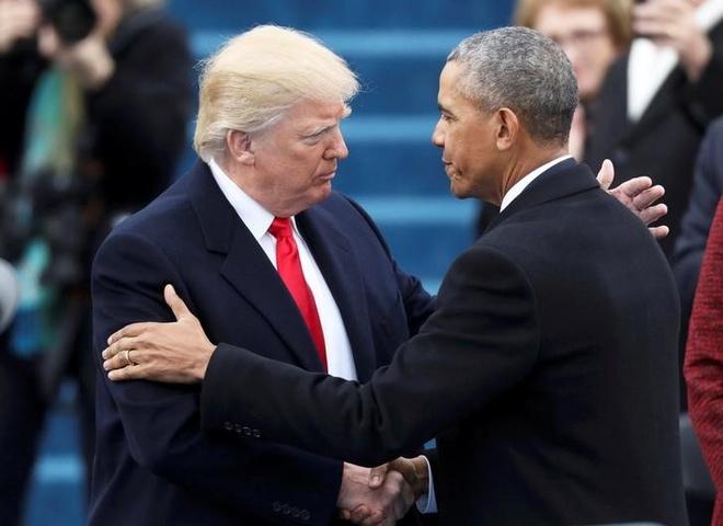 Trump pha di san Obama anh 1
