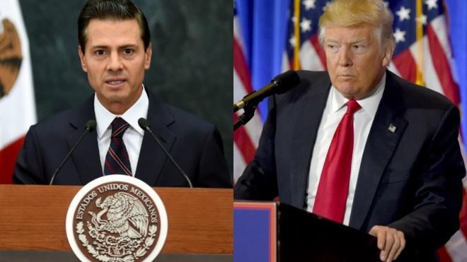 Ong Trump va TT Mexico 'dau khau' vi buc tuong bien gioi hinh anh