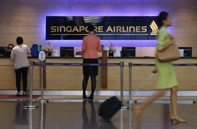 Xac tiep vien truong Singapore Airlines trong khach san o My hinh anh 1
