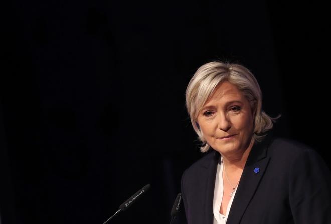 Phap: Le Pen tranh cu voi cam ket 'chong toan cau hoa' hinh anh 1