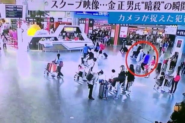 Video nghi la canh ong Kim Jong Nam bi tan cong hinh anh