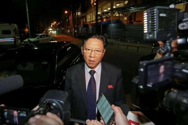 Malaysia trieu tap dai su Trieu Tien vi vu ong Kim Jong Nam hinh anh