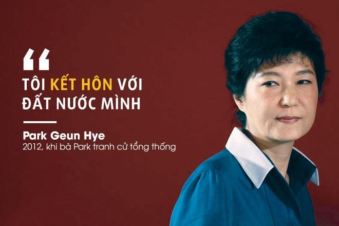 Park Geun Hye va hai lan roi Nha Xanh trong cay dang hinh anh
