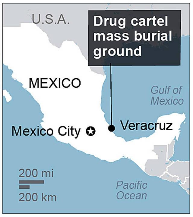 Phat hien 250 dau lau trong khu mo bi mat o Mexico hinh anh 2