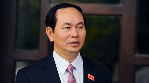 Chu tich nuoc gui dien tham hoi Tong thong Putin ve vu no o nha ga hinh anh