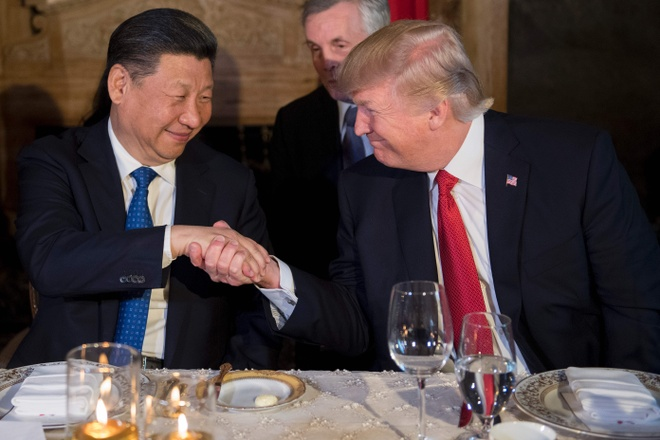 Mar-a-Lago am ap cua ong Trump va ong Tap giua cu soc Syria hinh anh
