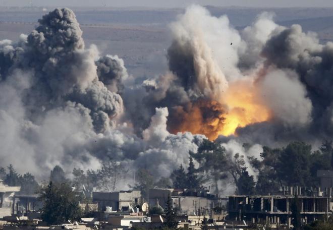 Quan doi Syria: IS so huu vu khi hoa hoc hinh anh