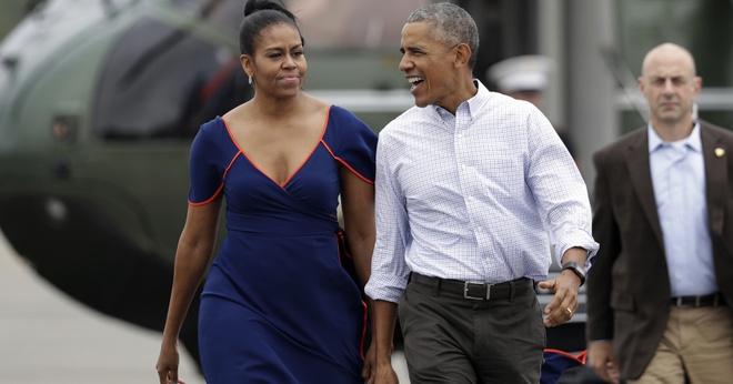 Obama ket thuc chuoi ngay 'o an' de xuat hien truoc cong chung hinh anh