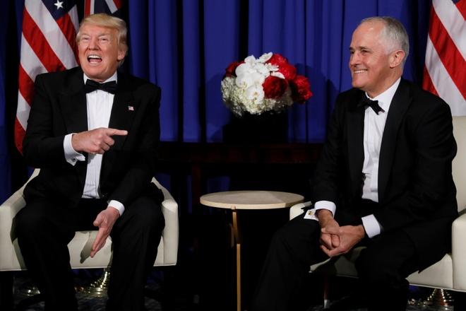 Trump de thu tuong Australia cho anh 1