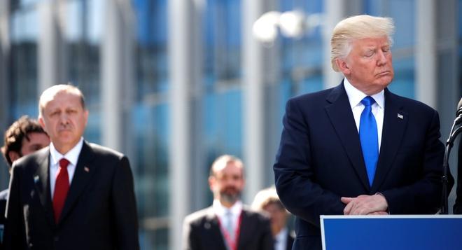 Tong thong Trump lai doi cac nuoc NATO dong gop 'cong bang' hinh anh 1