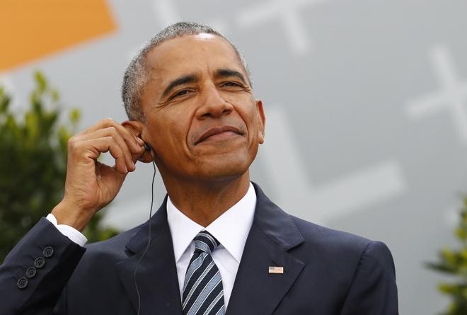 Ky nghi cua Obama: Ngu bu va 'cau xin' vo tha thu hinh anh