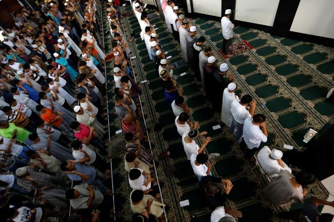 Philippines ngung ban o thanh pho bi chiem de dan an le Ramadan hinh anh