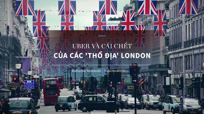 Uber va taxi: Cuoc chien khong co nguoi thang tai London hinh anh