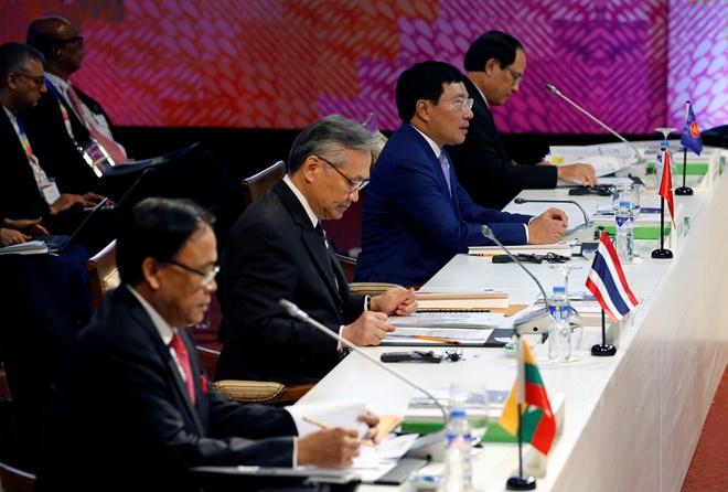 Trung Quoc va ASEAN thong qua du thao khung COC hinh anh