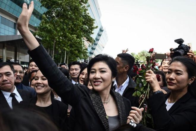 Toa toi cao ket an ba Yingluck 5 nam tu hinh anh