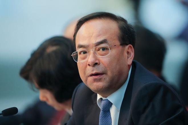 Trung Quoc chi trich cuu bi thu Trung Khanh la 'ham danh, muu mo' hinh anh