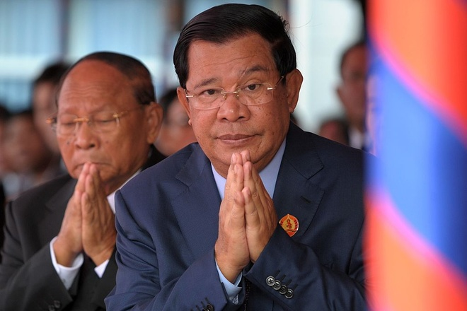 Toa toi cao Campuchia giai the dang doi lap hinh anh 2