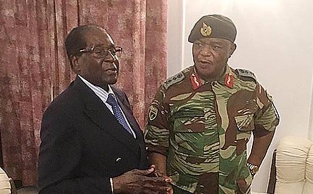 Mugabe bi tuong quan doi bua vay trong nhung ngay quan thuc hinh anh