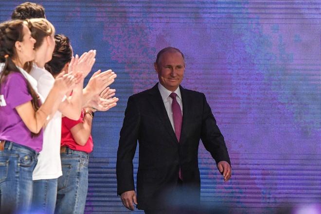 Putin hop bao anh 1