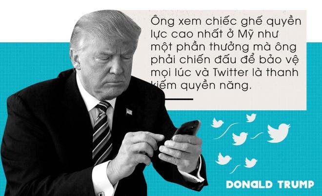 Dia vi dac biet cho TT Trump tren Twitter: Khong bi xoa bai hinh anh 1