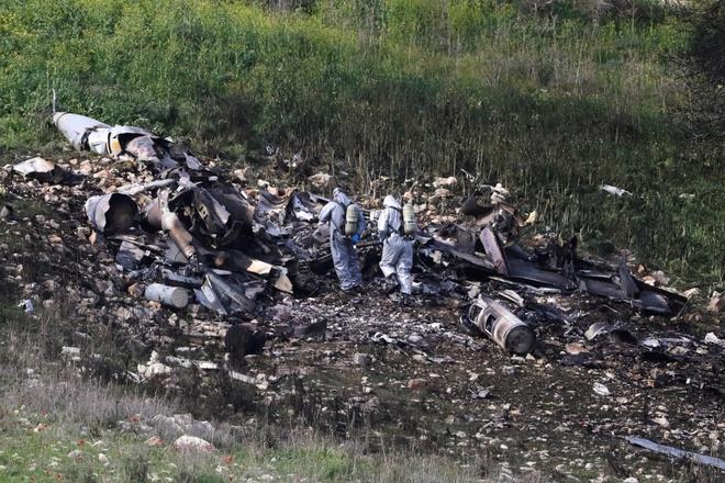 Israel trut con gian xuong Syria sau vu F-16 bi ban roi hinh anh